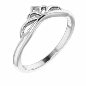 Crown Stackable Ring I