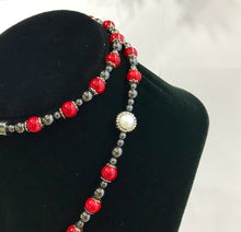 Hematite & Red Coral