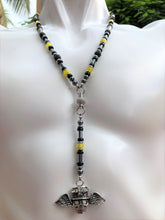 "Rosary Handmade - Handcrafted - Semiprecious Stone  ""Good Luck""-ROS135"