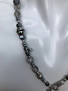 "Rosary Handmade - Handcrafted - Semiprecious Stone ""Exquisite""-ROS136"