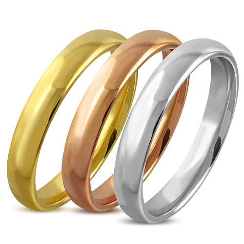 Ring Steel - 3-Tone Tricolor - VRR513