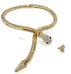 "Fashion Jewelry ""Snake Necklace-Set"""