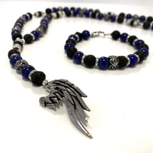"Rosary - Handmade - Handcrafted- Semiprecious Stone ""Wing"""