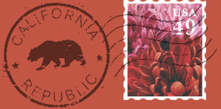 graphic image of a postage stamp