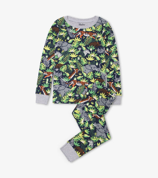 Hatley jungle safari organic cotton pjs - SmoochSuits