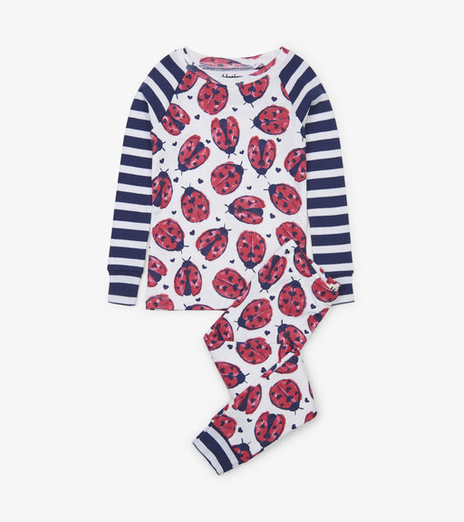 Hatley love bugs organic raglan cotton pjs - SmoochSuits