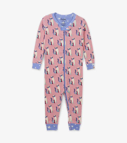 Hatley patchwork kitty organic cotton coverall - SmoochSuits