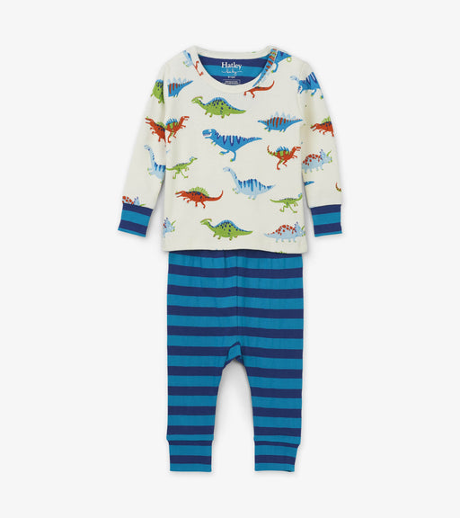 Hatley dino herd cotton baby pjs - SmoochSuits