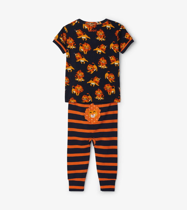 Hatley little cubs cotton baby short sleeve pjs - SmoochSuits