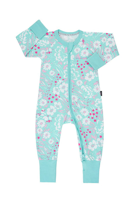 Bonds Enchanted Floral Wondersuit