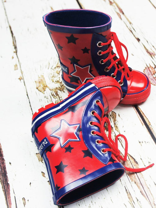 Blade & Rose blue star wellies - SmoochSuits
