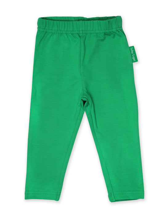 Toby Tiger Organic basic green legging