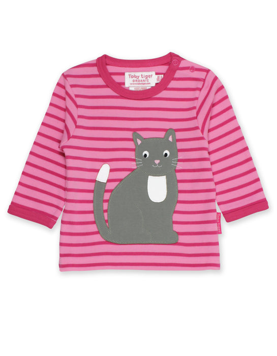 Toby Tiger Organic Kitten T-shirt