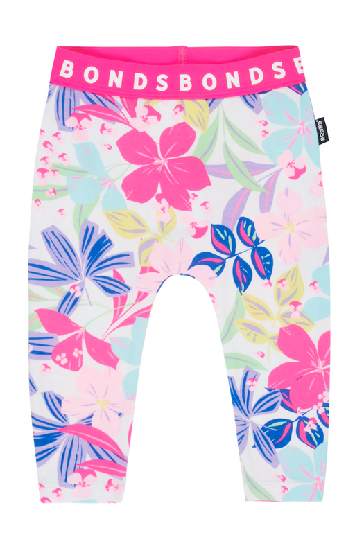 Bonds Beach club floral leggings - SmoochSuits