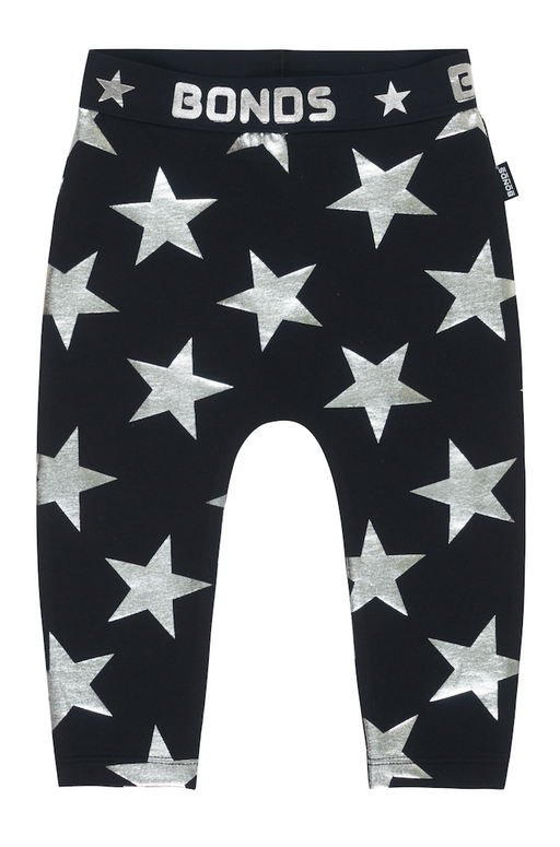 Bonds Star struck black leggings - SmoochSuits