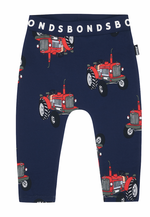 Bonds Tractor Jack navy leggings - SmoochSuits