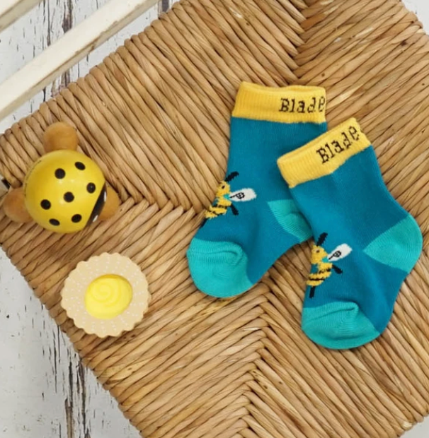 Blade & Rose Buzzy Bee Socks