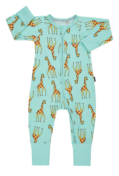 Bonds Gerald Giraffe Mint Wondersuit