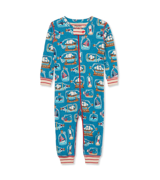 Hatley Bottled ships organic coverall - SmoochSuits