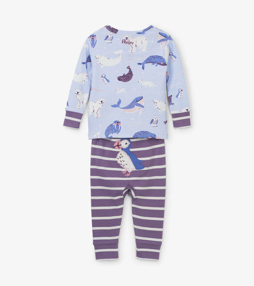 Hatley critters organic cotton baby pjs - SmoochSuits