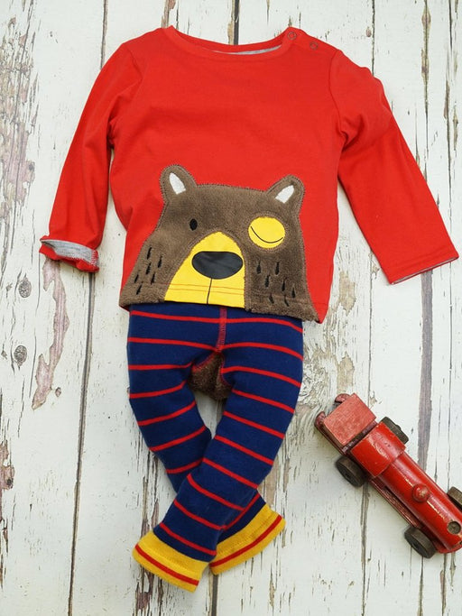Blade & Rose big brown bear top - SmoochSuits
