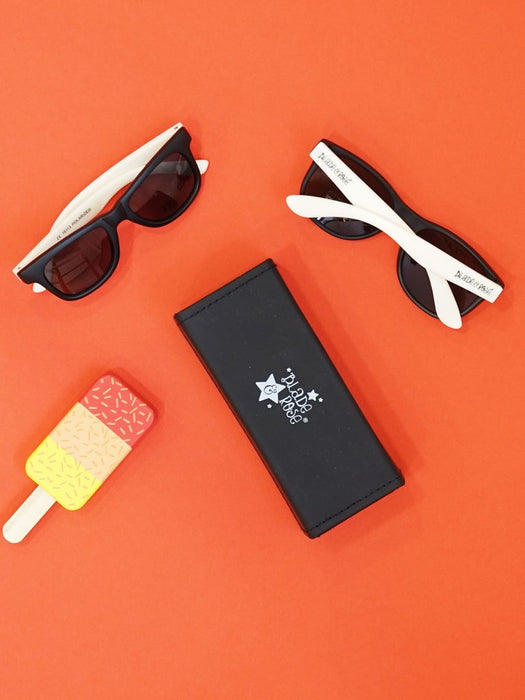 Blade & Rose Black and Milk polarised sunglasses