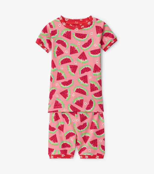 Hatley watermelon slice organic cotton short pjs - SmoochSuits