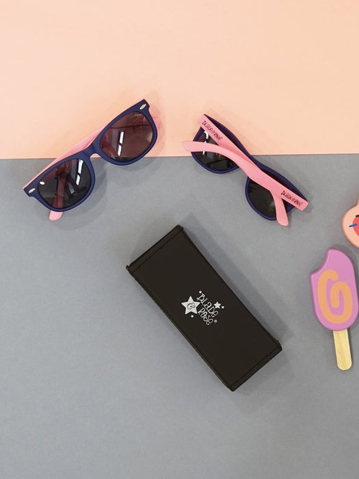 Blade & Rose Purple and Pink polarised sunglasses