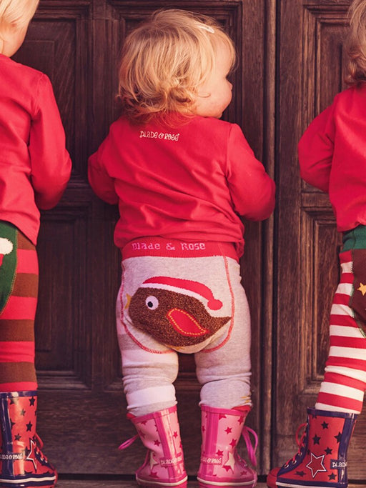 Blade & Rose Christmas robin Leggings - SmoochSuits