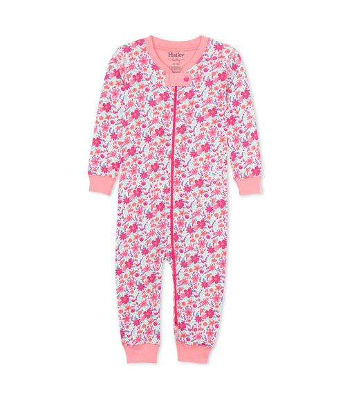 Hatley summer garden organic coverall - SmoochSuits