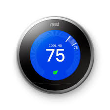 Nest 3rd generation thermostat