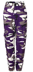 Purple Camo Pants