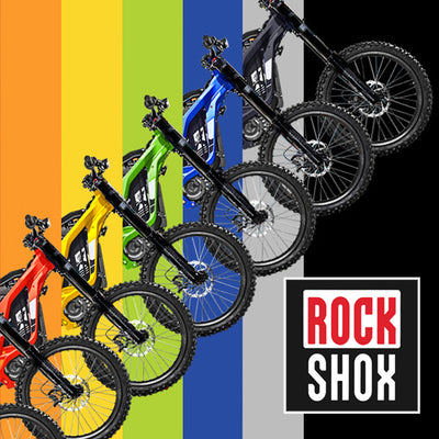 Rock Shox Version Available in More Colours!