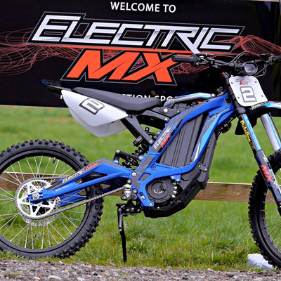 Electric MX Sur-ron test, rent and track ride south London