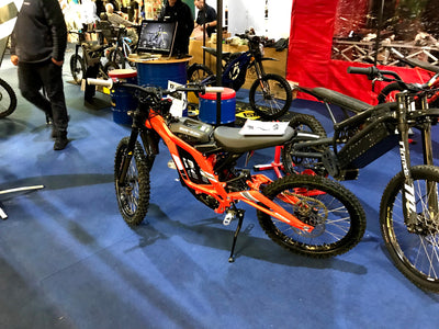 Sur-Ron at the International Dirt Bike Show