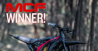 MCF Team Aid Auction - Sur-Ron Youth Bike Winner