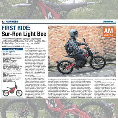 Motorcycle Monthly: LB X Road Legal Review