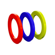 Magura Ring Kit for Caliper, 4 Pistons - Blue, Neon Red, Neon Yellow