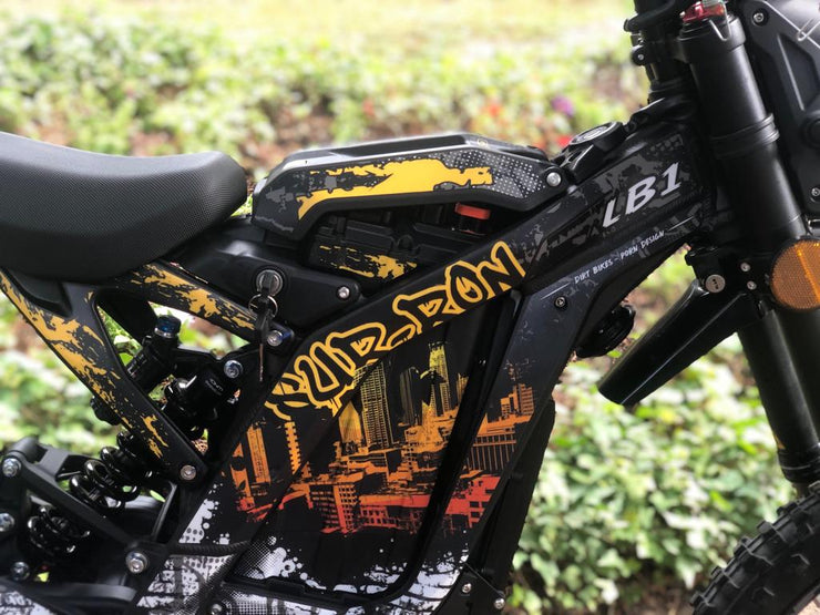 Sur-Ron Decals Urban Edition to fit Road Legal Model