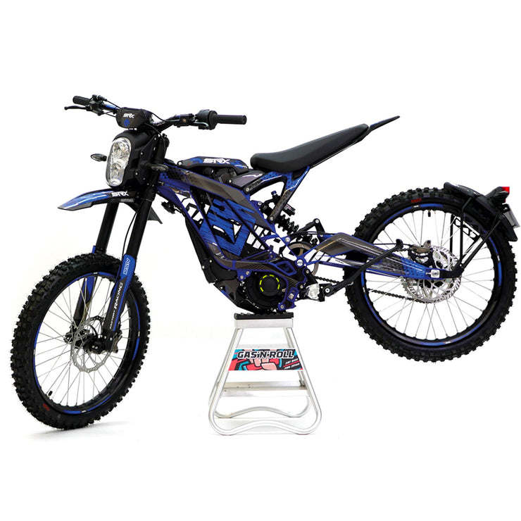 Sur-Ron Decals Blue & Grey to fit On & Off Road Models
