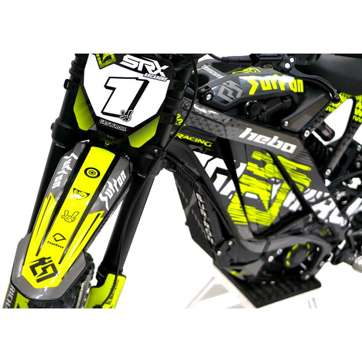 Sur-Ron Decals Fluorescent Yellow to fit On & Off Road Models