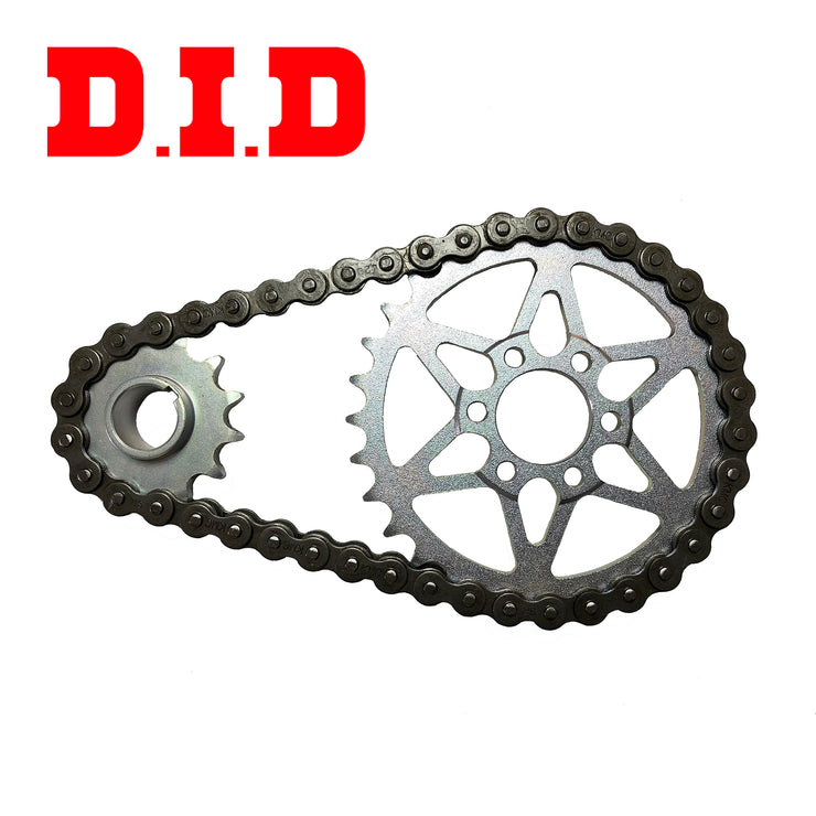Sur-Ron LBX Primary Transmission Chain Conversion Kit with DID Chain