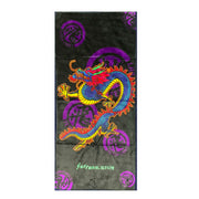 Sur-Ron Black & Purple Dragon Design Towel