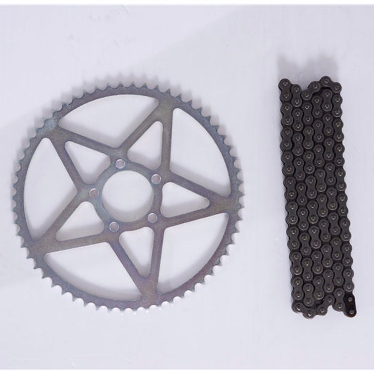 Sur-ron Rear Sprocket 58T & Longer 420 Chain