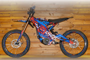 Full Gas 'N' Roll Decal kit (Chassis + Battery + Handlebar + Rims)