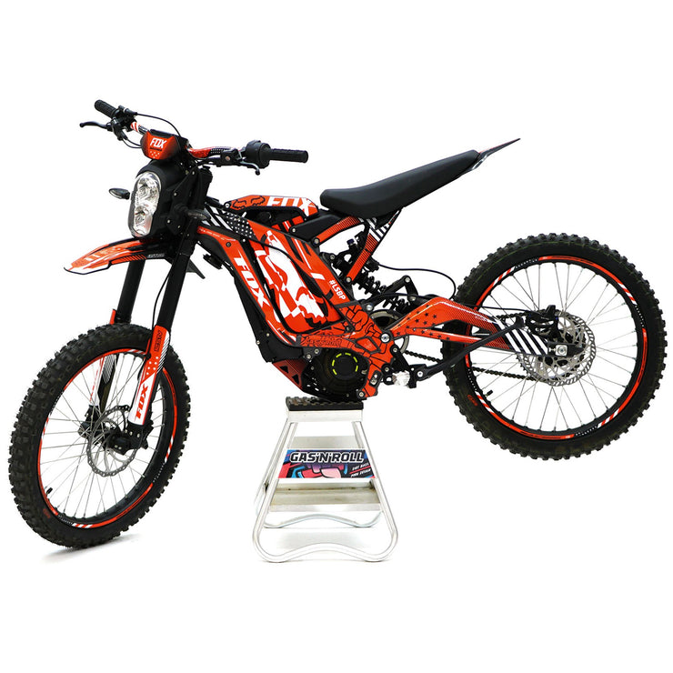 Sur-Ron Decals Orange to fit On & Off Road Models