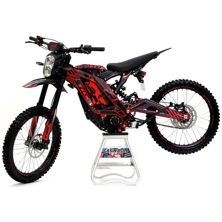 Sur-Ron Decals Red & Black to fit On & Off Road Models