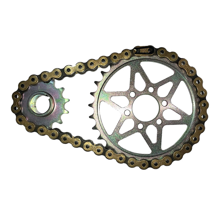 Sur-Ron LBX Primary Transmission Chain Conversion Kit with DID NZ3 Motocross Race Chain