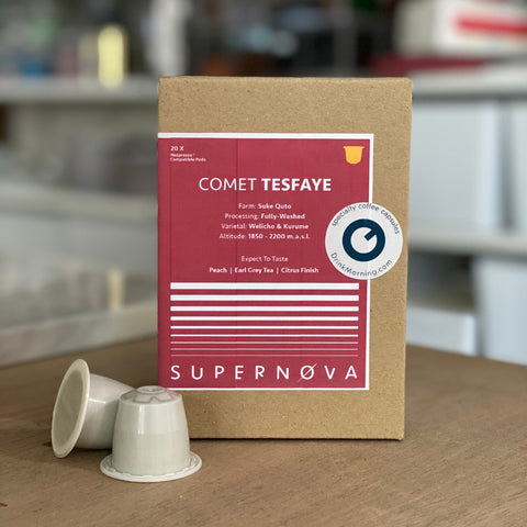 Comet Tesfaye by PPP Coffee
