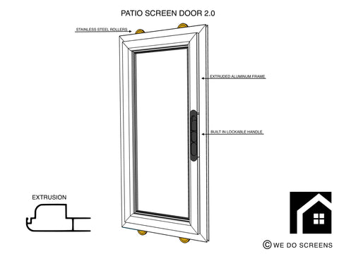 Patio Screen Door 2.0